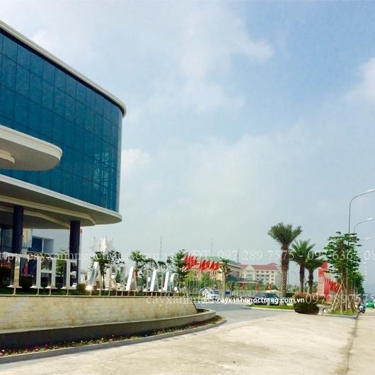 Mặt tiền sảnh khu phức hợp trung tâm hội nghị Khách sạn đa năng Ninh Bình